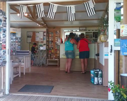 reception camping penhoat fouesnant