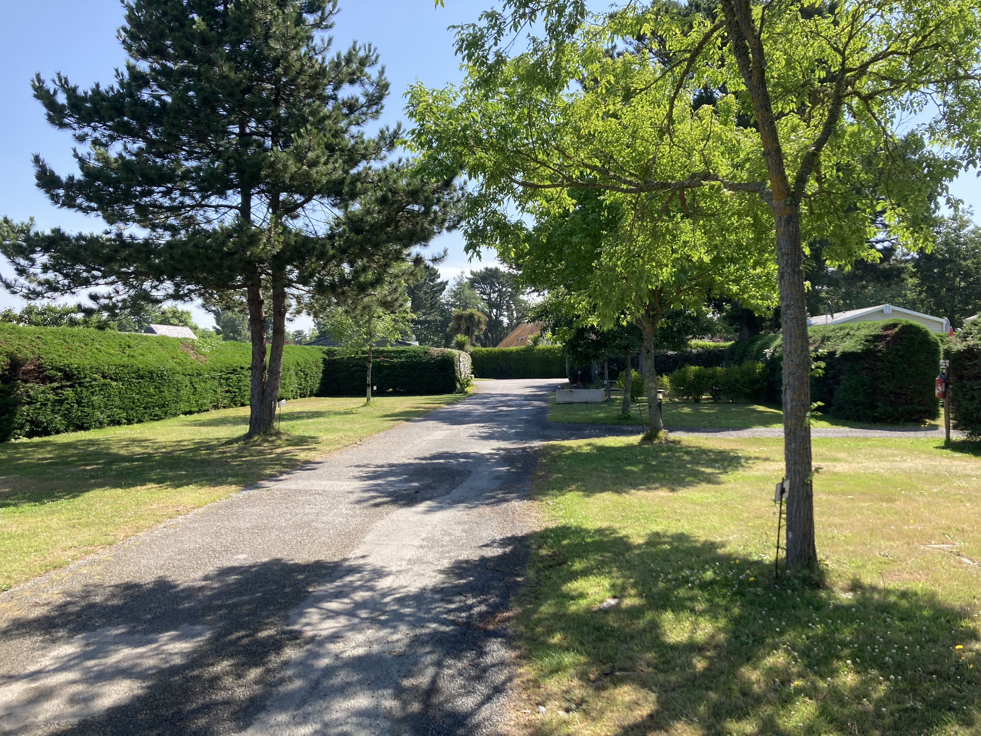 pitch camping fouesnant mousterlin