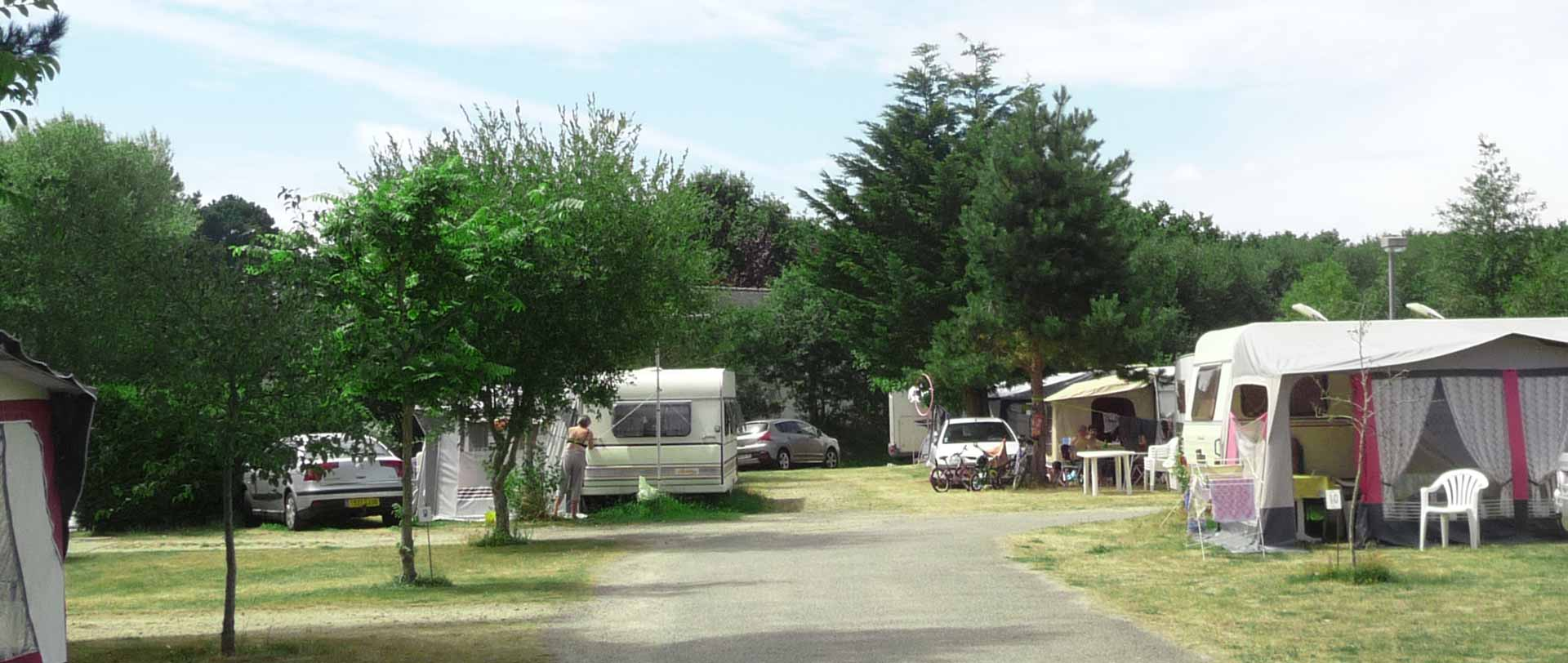 Stellplätze camping fouesnant mousterlin finistere sud