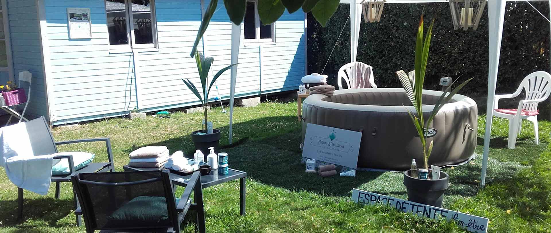 Benessere e area relax camping Penhoat fouesnant mousterlin